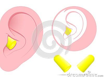 耳朵耳塞图表图片