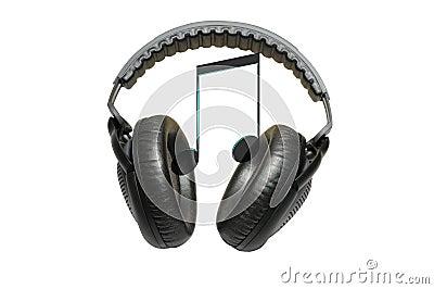 耳机查出音乐专业白色
