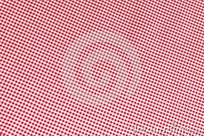 背景方格花布红色