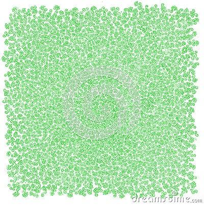 背景草绿色