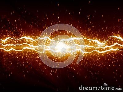 孕妇梦见闪电和火花