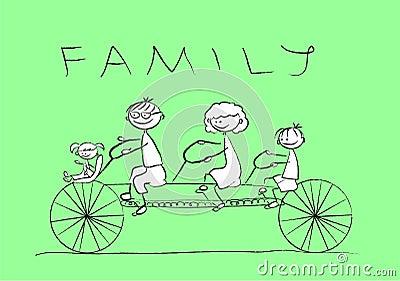 骑自行车儿童图画系列例证照片s向量.图片