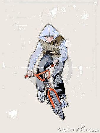 自行车骑士