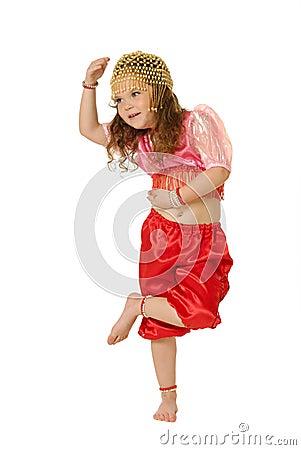 这位模特 女孩 舞女