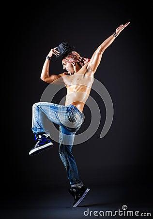 舞蹈家跳舞