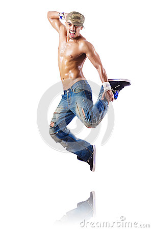 舞蹈演员跳舞舞蹈