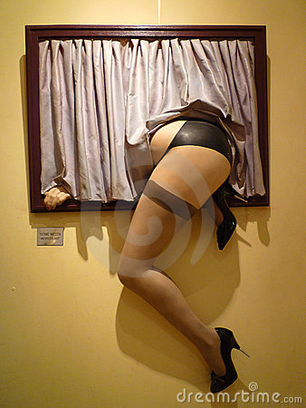 色情博物馆巴黎 图库摄影片