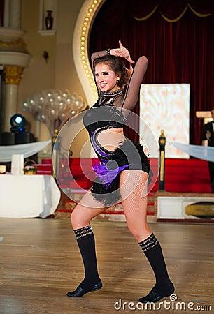 艺术性的舞蹈授予2012-2013 图库摄影片