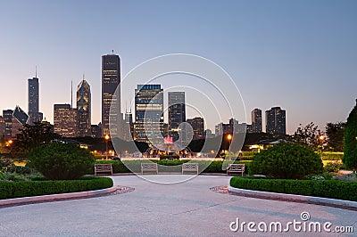 芝加哥授予公园