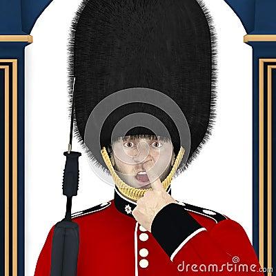 英国卫兵-鼻子