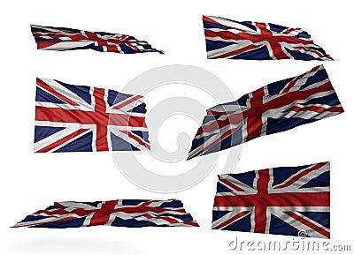 英国国旗集合图片