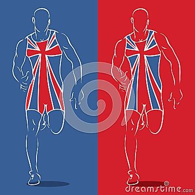 英国赛跑者