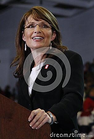 萨拉Palin 图库摄影片