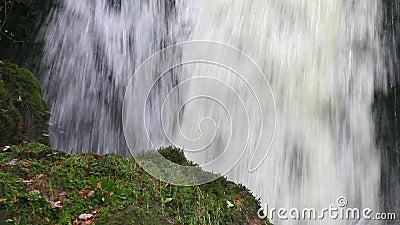 落下的水瀑布