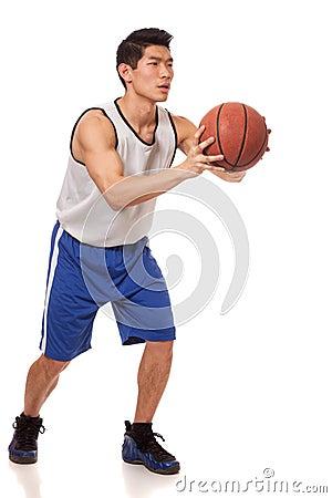 蓝球运动员