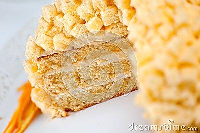 蛋糕含羞草