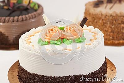 蛋糕玫瑰图片