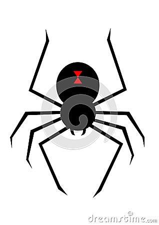 有黑寡妇蜘蛛的动画片女孩