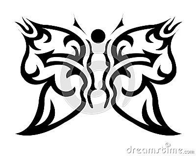 纹身花刺翼老自治权艺术蝴蝶行行程装饰计算机设计