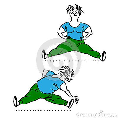 老妇性交姿势_行使老妇人 早晨行使,传染媒介例证,被设置的普拉提姿势.