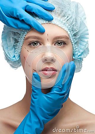 整容_表面女性运算整容手术
