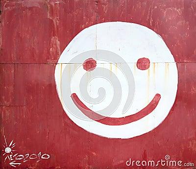 表面面带笑容符号