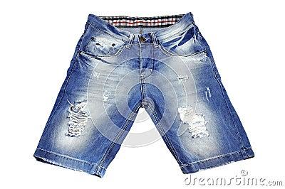 被剥去的短裤