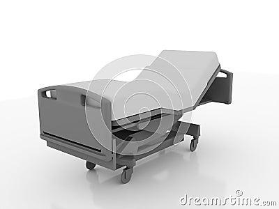被回报的医院病床图片