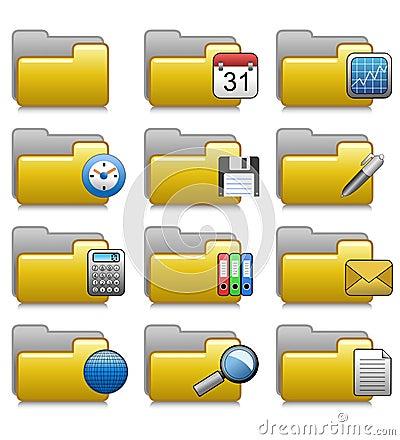 被设置的文件夹-办公室应用文件夹07