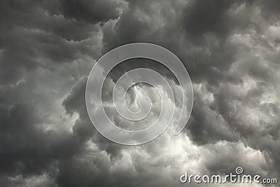 梦见天气阴沉黑暗下雨