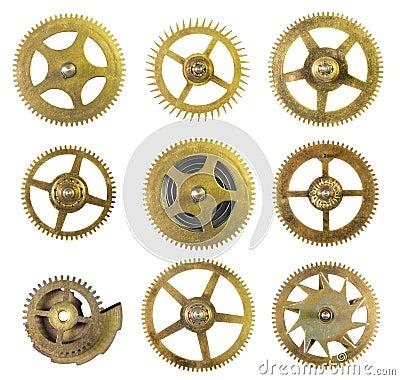 计时嵌齿轮