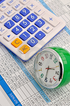 计算器时钟数据