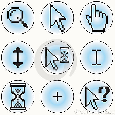 计算机游标图标