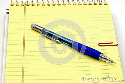 记事本铅笔