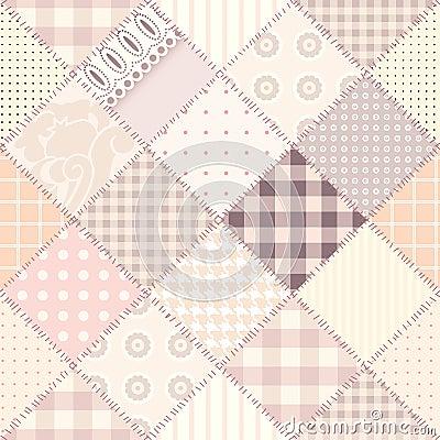 设计粉红色缝制