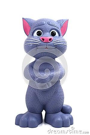 图库摄影: 谈的汤姆猫图片