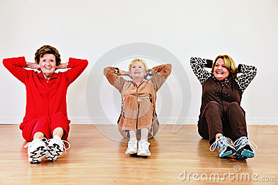资深妇女锻炼类