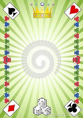 赌博娱乐场不同的工具在样式.