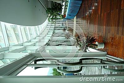 走廊dinning的大厅