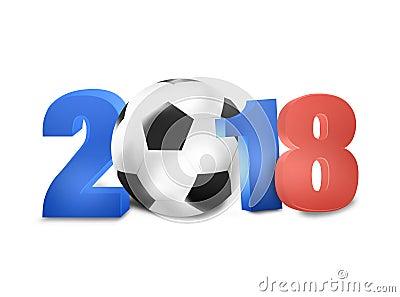 2018年足球设计创造性的图表概念.图片