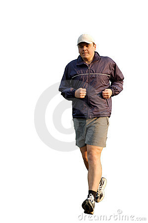 跑步的人年轻人