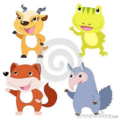 逗人喜爱的动物集合