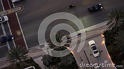 道路自动交通录像 股票视频