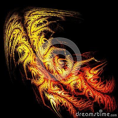 架模式火烧皮肤纹理纹身花刺结构树老虎背包舞蹈艺术