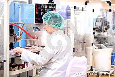 配药的工厂