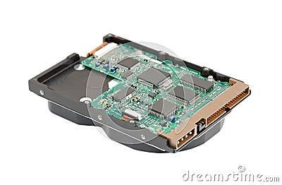 里面硬盘驱动器