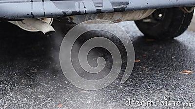 重的大气污染 股票视频