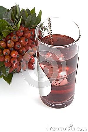 野玫瑰果茶