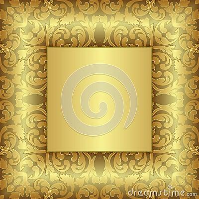 金黄的背景