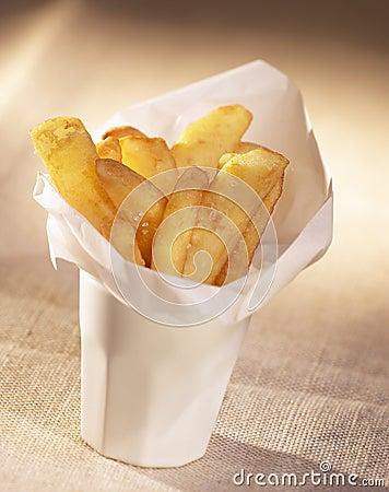 锥体烹调法烹调食物炸薯条美食术